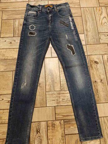 Фирменные джинсы OFF WHITE на мальчика или подростка