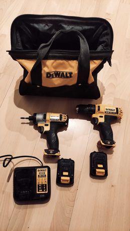 Zestaw Dewalt, Dewalt 10.8V, Dcf 815, dcd 710