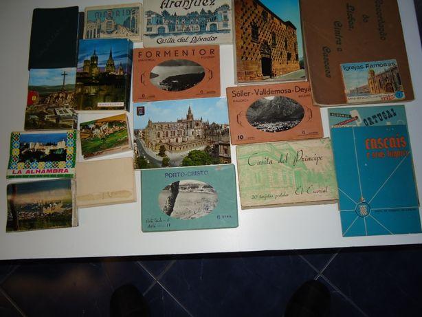 Cadernos de Postais, vários países.