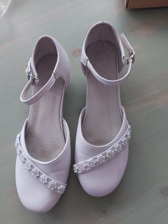 Sliczne buty komunijne