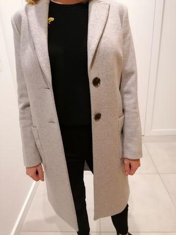 Tatuum płaszcz damski, szary, wełna, rozm. 36, NOWY