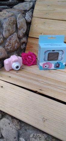 Детский противоударный цифровой фотоаппарат с играми