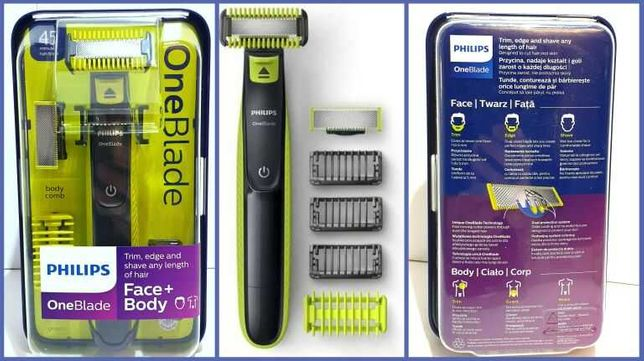 Maszynka do twarzy i ciała Philips OneBlade QP2620/20
