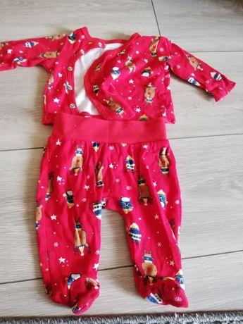 Piżamka niemowlęca rozm.62