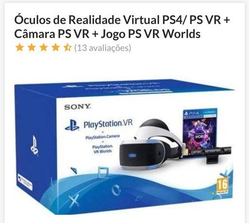 PS VR com câmara e jogo !