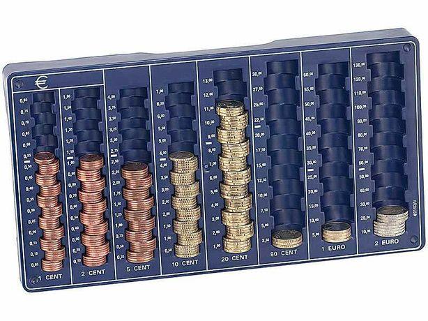 Tabuleiro Contador de moedas PEARL novo, embalado e selado