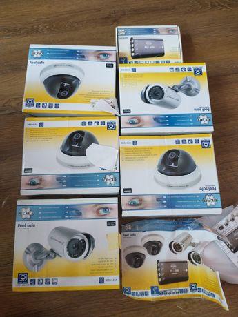 Zestaw kamer z nagrywarką . 4 kamery + 1 gratis obrotowe