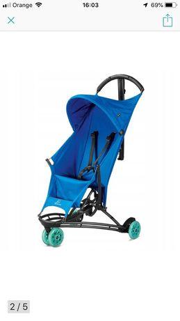 Wózek Lekka Parasolka na wakacje Quinny Jezz Air Blue