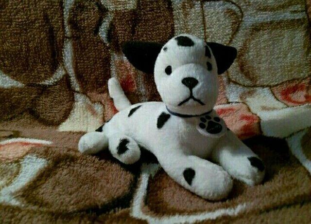 Мягкая игрушка собачка в хорошем состоянии