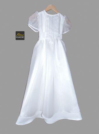 Sukienka komunijna | Rozmiar 140 | Krawcowa | Szycie na miarę |