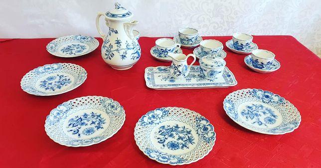 Старинный чайный сервиз немецкой фирмы Meissen