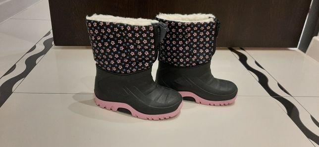 Kozaki buty śniegowce r. 25-26