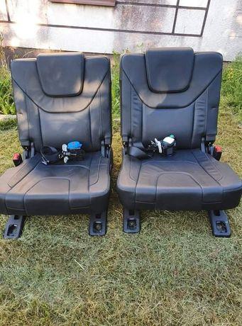 Fotele skórzane 3 rząd Ford S-max MK2