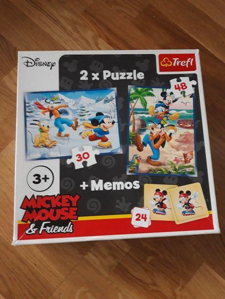 Puzzle 3+ plus karty memos