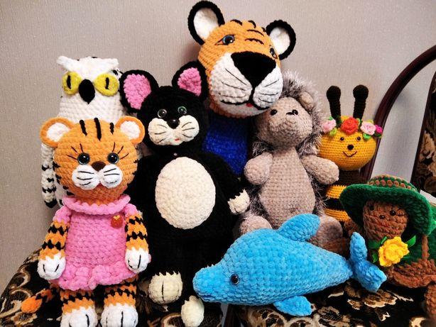 Мягкие игрушки, вязаные игрушки