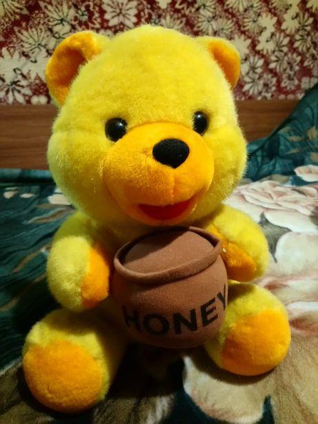 Мягкие игрушки медвежонок и тигренок