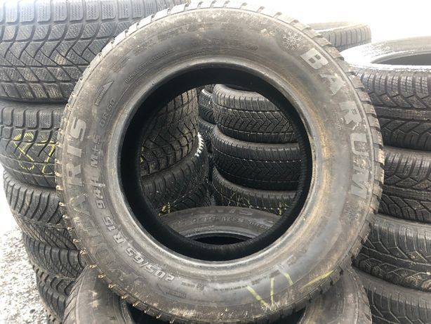 Пара шин BARUM 205/65 R15 Polaris, зимняя резина