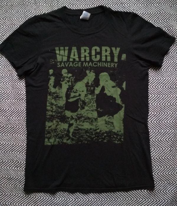 WARCRY koszulka t-shirt S crust punk Wolfbrigade Disfear Warszawa - image 1