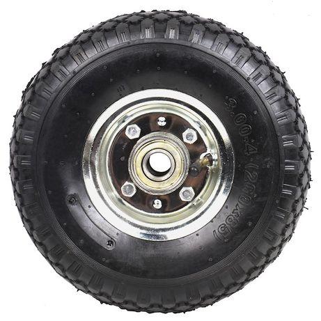 Rodas de 260mm (26 cm) e (20mm diâmetro eixo) com rolamento - 175kg