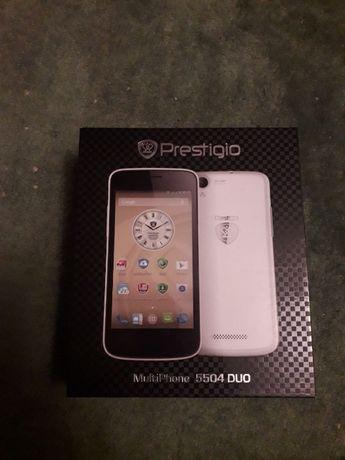 Смартфон Prestigio MultiPhone 5504 Duo white