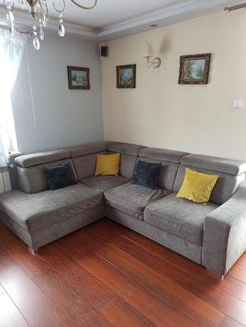 Sofa, kanapa narożna rozkładana z funkcja spania