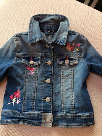 C&A kurtka jeans 104 jak nowa