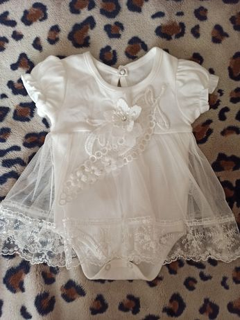 Платье для новорожденных НЕДОРОГО
