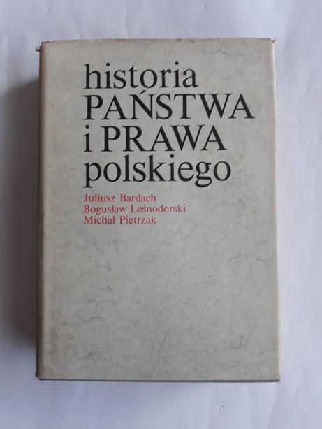 Historia państwa i prawa polskiego; J. Bardach, B. Leśnodorski,
