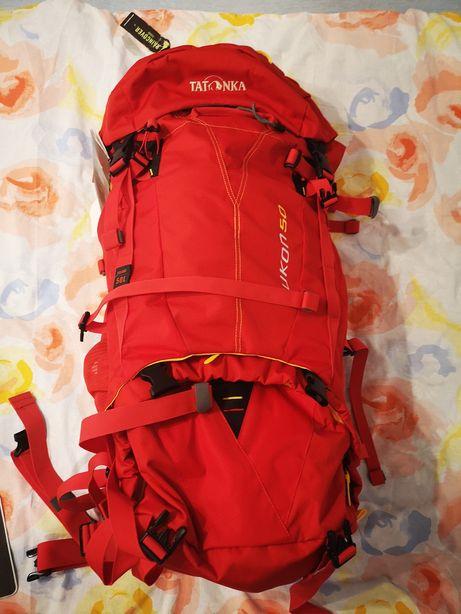 Plecak Tatonka, yukon 50 | NOWY | Kolor: czerwony | plecak trekkingowy