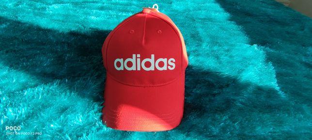 Czapka nowa adidas !czerwona