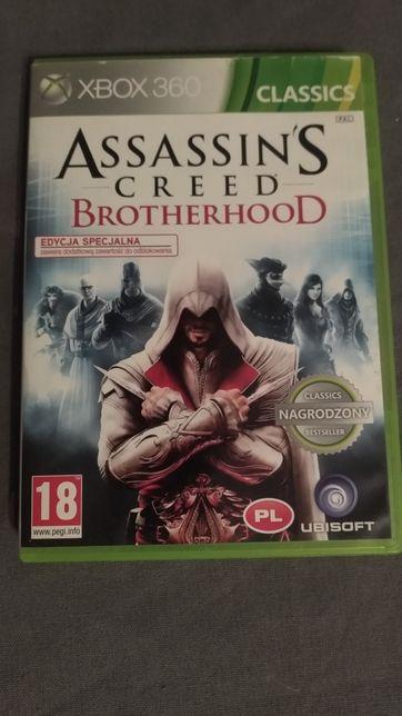 Sprzedam grę Assassin's Creed Brotherhood na Xbox 360