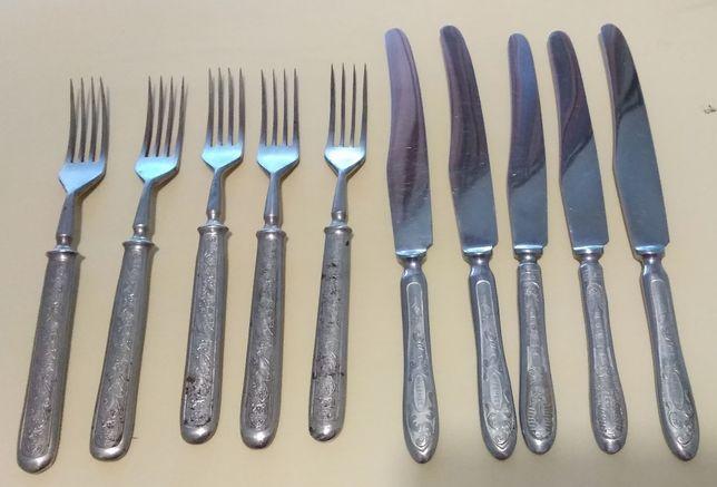 Набор ножей и вилок (50-е годы СССР)
