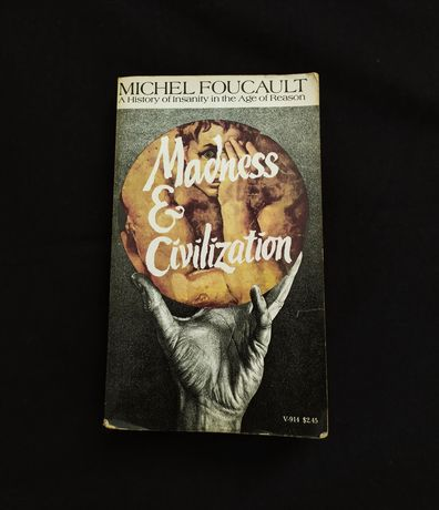 "Michel Foucault ""Madness and Civilization"" vintage socjologia"