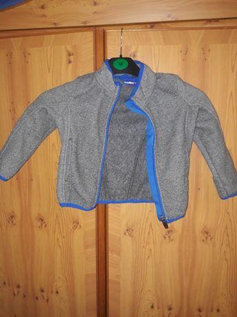 Ciepła bluza rozpinana na dziecko w rozmiarze 86/92