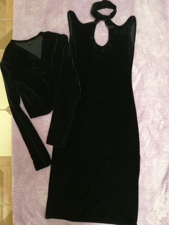 Вечірня сукня міді