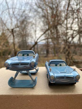 Disney Pixar Коллекция Тачки 2, машинки (Две версии Фин Макмисл) 2шт.