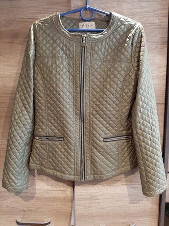 Jesienna pikowana khaki M L