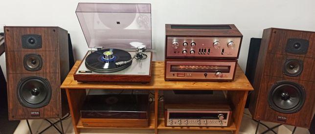 Zestaw Stereo Hi-fi Luxman end Ditton . Ideał. Przegląd Faktura Gwar.
