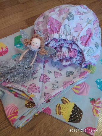 Набор детского постельного белья.