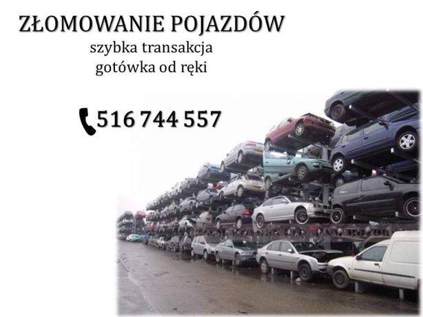Złomowanie pojazdów kasacja aut samochodów Kalisz i Okolice Skup aut