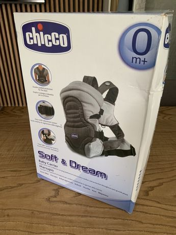 Эргорюкзак, кенгуру-переноска Chicco Soft and dream, новый