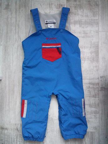Jak nowe!! Spodnie kombinezon narciarskie Columbia 18miesięcy+ gratis!