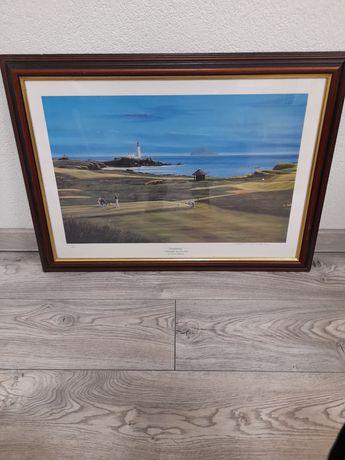 "Obraz ""Turnberry"" Terence Macklin 75 na 54,5 cm"