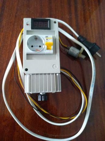 Регулятор напряжения с клапаном и модулем уровня жидкости. До 3Кв