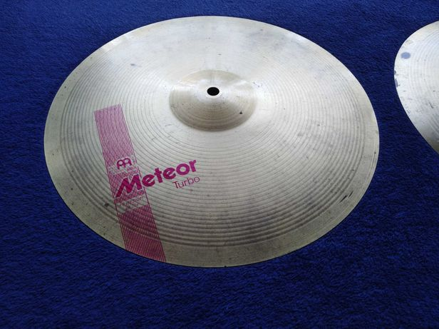 Talerz do perkusji Meinl Meteor Turbo Medium Hi-hat 14""