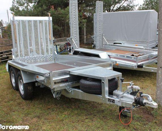 Brenderup Przyczepa pod koparKę BRENDERUP MT 2600  Przyczepa do minikoparki, walca. Solidna, dmc 2600kg