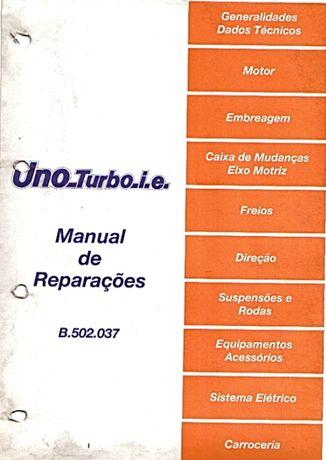Manuais Fiat Uno Turbo Ie
