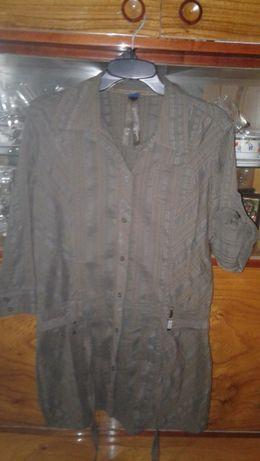 Koszula CECIL ,tunika , khaki jak NOWA XL