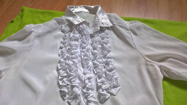 biała bluzka roz 40