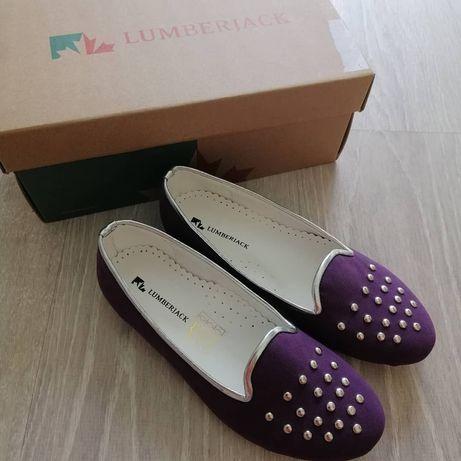 Балетки туфли Lumberjack новые Zara next H&M в коробке